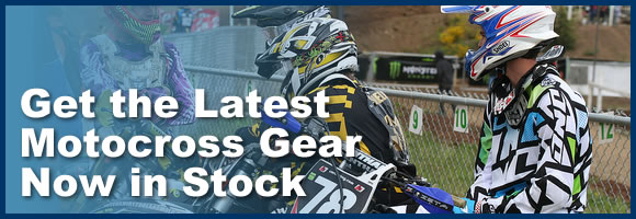 Get the Latest Motocross Gear Now in Stock