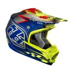 2014 Troy Lee SE3 Team Helmet Chrome