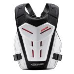 EVS Revo 4 Chest Protector Youth White
